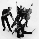 Soldier String Quartet, circa 1989: Mary Wooten, Ron Lawrence, Laura Seaton, Dave Soldier, photo Tom Caravaglia